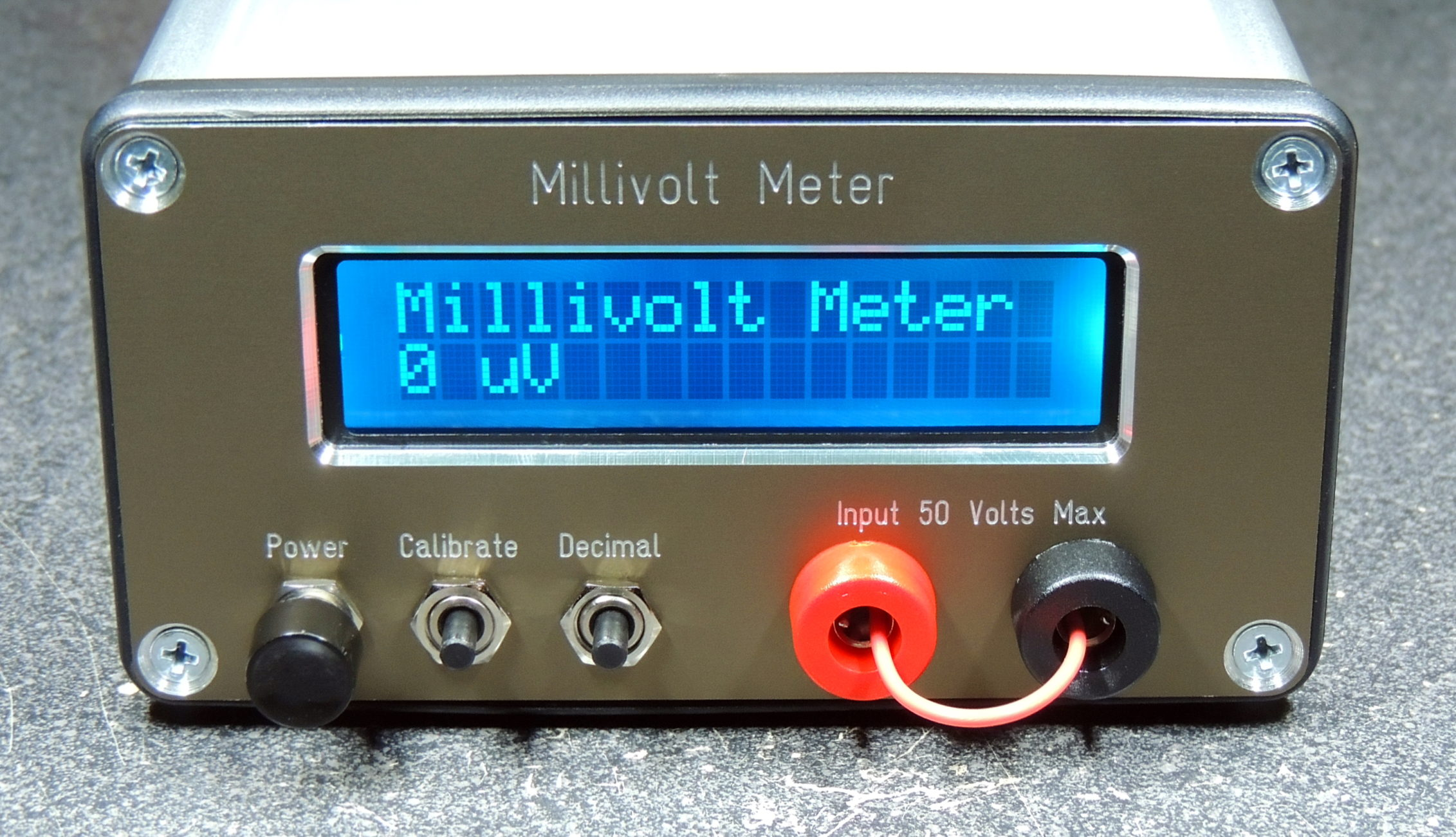 Millivolt Meter - Barbouri's Electronics Projects