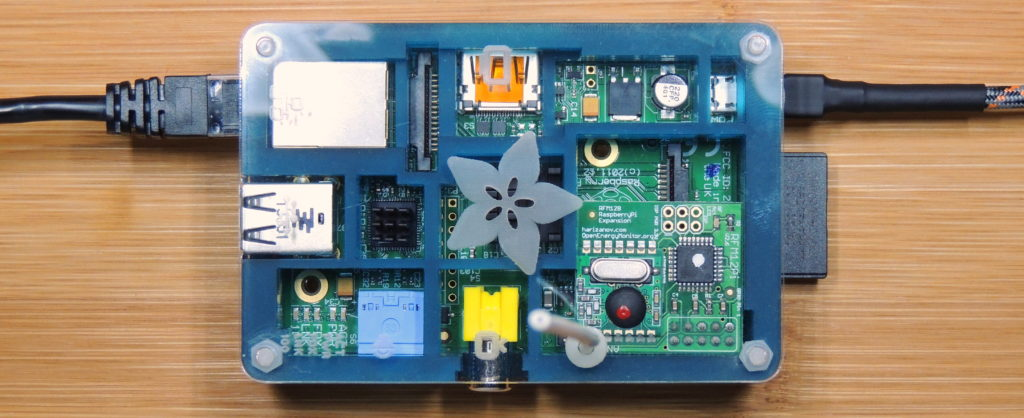 emon-Base station using a Raspberry Pi and wireless module
