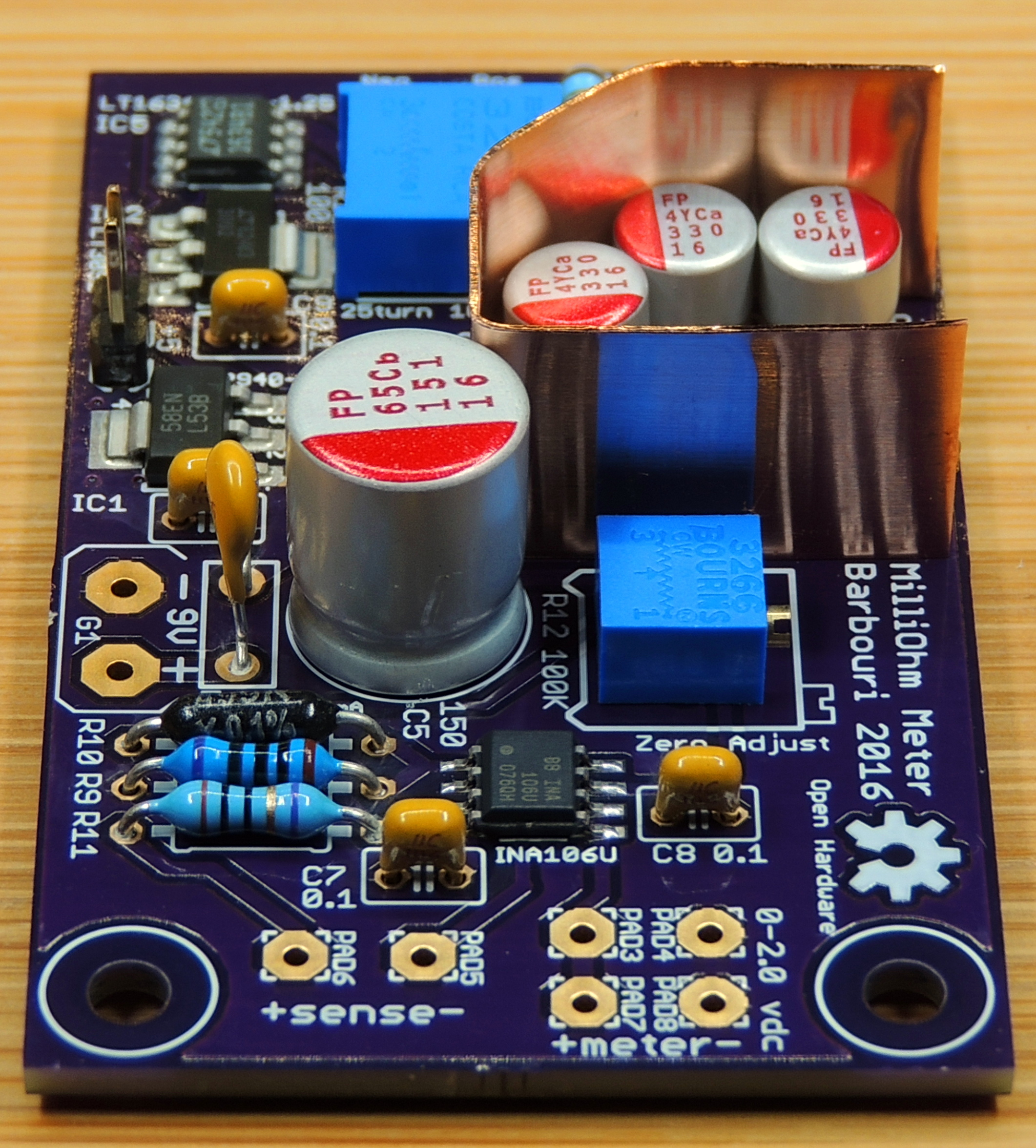 Milliohm Meter Version 1 5 - Barbouri's Electronics Projects