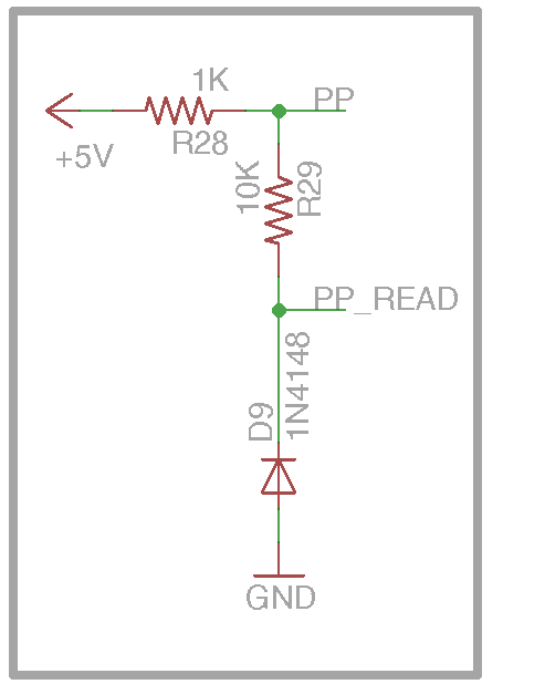 DIY Open EVSE 4.23 PP_Read section schematic