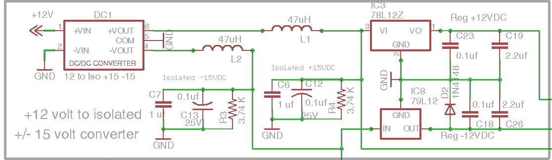 diy open evse 4 23 isolated power section schematic