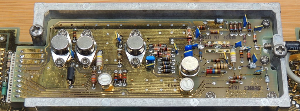 HP 5305B 1300MHz Board top