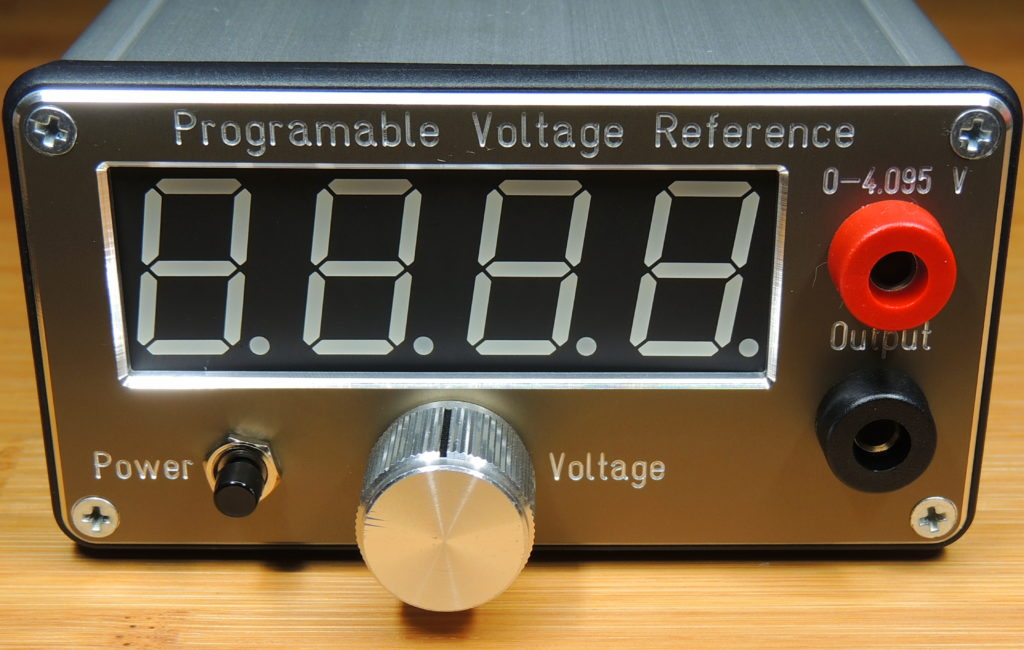 Case for the Programmable Voltage Reference project