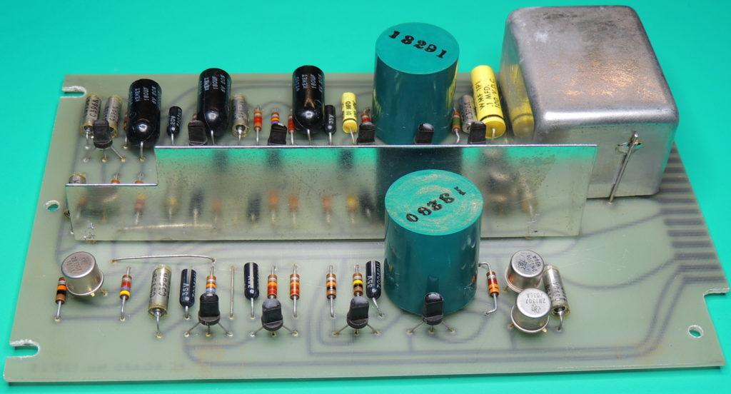 ESI 250DE-Impedance Bridge board side 1