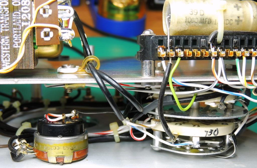 ESI 250DE-Impedance Bridge Select & gain potentiometer