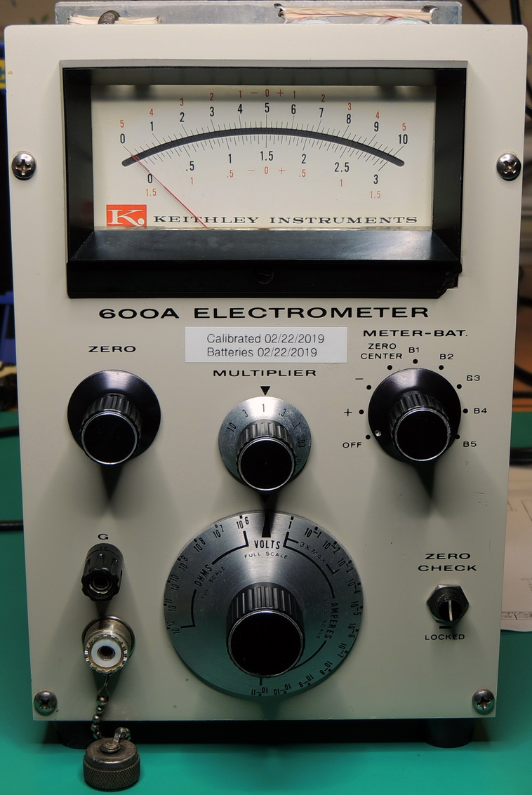 Keithley 600A Electrometer Repair - Barbouri's Electronics