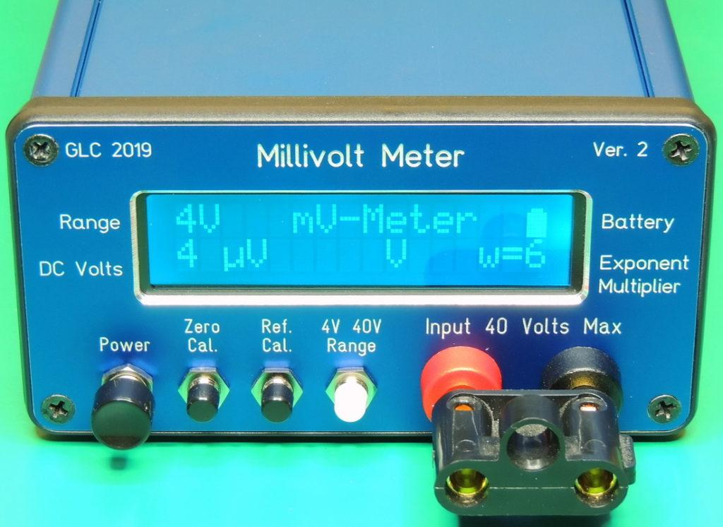 Millivolt Meter V 2.11 front shorted input