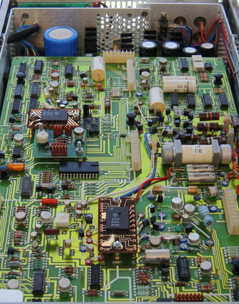 HP 3456A A20 board overall view