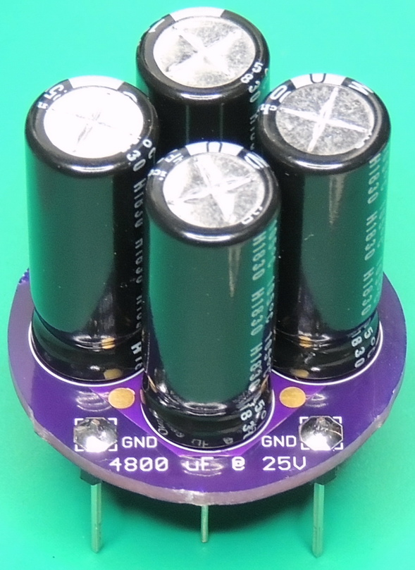 Hewlett Packard 3456A C5 capacitor adapter Rev 1.1