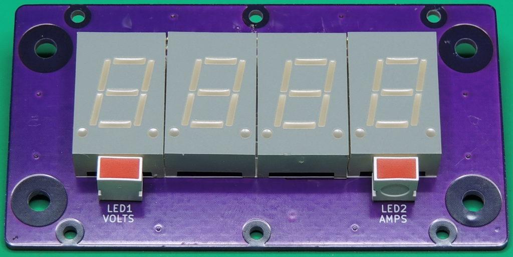 Power Designs D series 4-digit display board